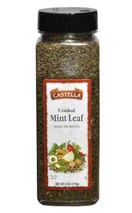 Castella Mint Leaf Crushed - 3oz