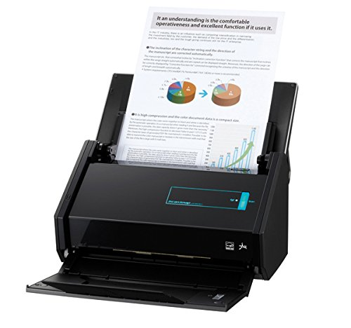 Fujitsu ScanSnap iX500 Dokumentenscanner (600dpi, WLAN, USB 3.0, Abbyy PDF Finereader MAC / WIN) OHNE Acrobat
