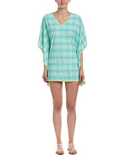 Cabana Life Womens Embroidered Cover-up, M, Green for sale  Delivered anywhere in USA