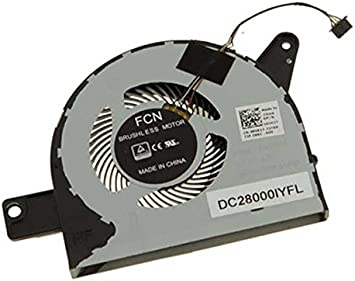 NEW CPU Cooling Fan For Dell Latitude 5580 9VK27 DC28000IYFL 09VK27