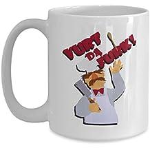 Funny Chef Coffee Mugs - Chef - Vurt da Furk! - Best Gifts For Friends, Men - Cooking Coffee Mug, Tea Cup 11 oz, 15 oz