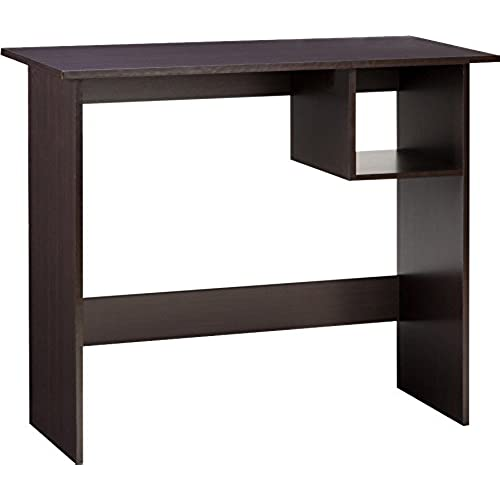 Comfort Products 50-7004ES Modern Desk with Storage Compartment, Espresso