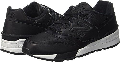 Scarpe Uomo black New Running 597 Balance Nero OnwxxvpUgq