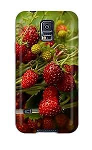 Hot Tpye Strawberries Case Cover For Galaxy S5 wangjiang maoyi