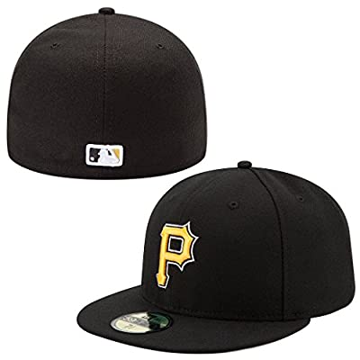 New Era 59FIFTY Pittsburg Pirates Team Alternate Baseball Hat Black