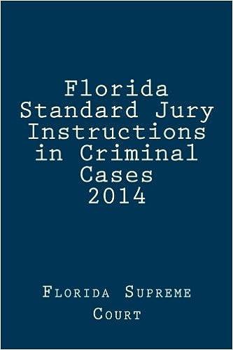 Amazon Florida Standard Jury Instructions In Criminal Cases