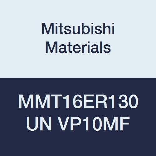 Mitsubishi Materials MMT16ER130UN VP10MF MMT Series Carbide G-Class External Ground Threading Insert Pack of 5 Right Grade VP10MF 9.525 mm IC American UN Type 1.3 mm Pitch