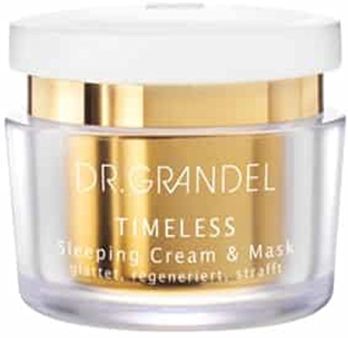 Dr. Grandel Timeless Sleeping Cream & Mask 50 ml (New). For a smooth, firm skin appearance like after a beauty sleep