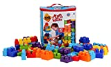 Kids at Work 82 Piece Building Blocks with Storage Tote