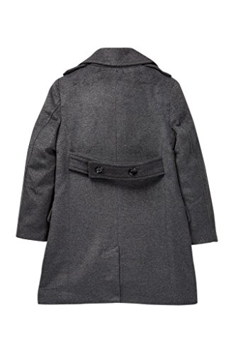 d327dc71d822 Amazon.com  Isaac Mizrahi Boy s Single Breasted Wool Overcoat With ...