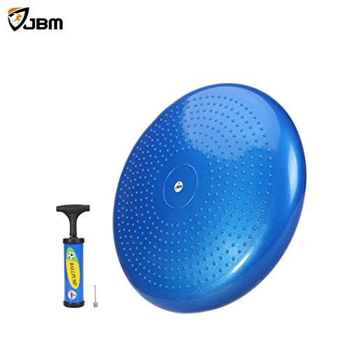 Balance Board Exercises Benefits: JBM Balance Disc Exercise Stability Disc Board Trainer Pad