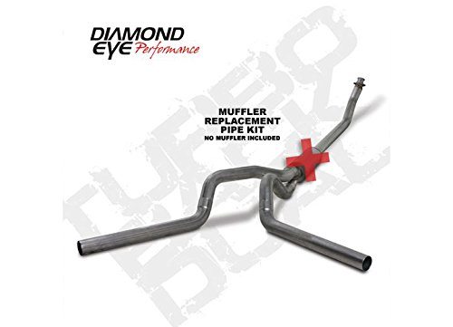 Diamond Eye K4214S-RP Turbo-Back Exhaust Kit (Diamond Eye 4' Exhaust)