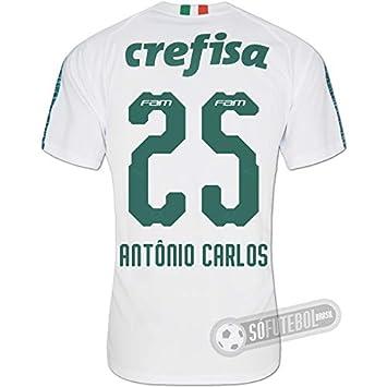 Camisa Palmeiras - Modelo II (ANTÔNIO CARLOS  25)  Amazon.com.br ... 73a7912653b7e