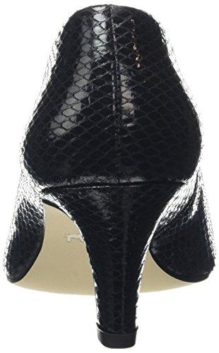 Toe Black Dal Van Lowe Women's Black Closed Pumps v8nqI1x