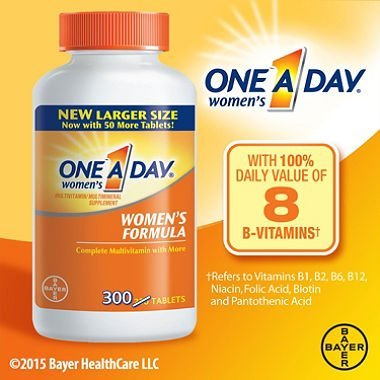 One-A-Day Women's Multivitamin, 60-Count (Pack of 2)