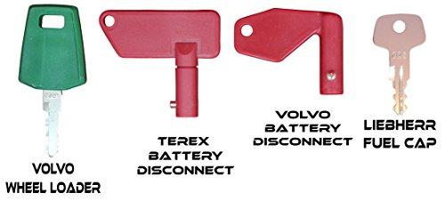 TORNADO HEAVY EQUIPMENT PARTS Construction Equipment Master Keys Set-Ignition Key Ring for Heavy Machines, 64 Key Set by TORNADO HEAVY EQUIPMENT PARTS (Image #7)