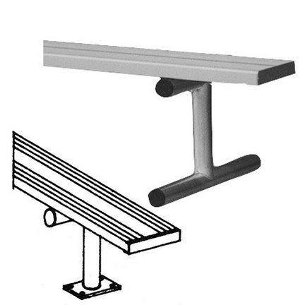 7.5' Surface Mount Bench - 5