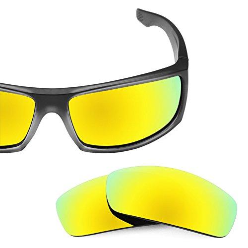Verres de rechange pour Spy Optic Cooper XL — Plusieurs options Bolt Or MirrorShield® - Polarisés