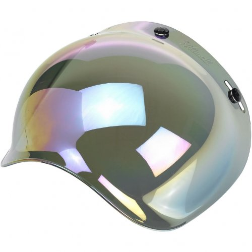Biltwell Bubble Shield Anti Fog - Rainbow Mirror