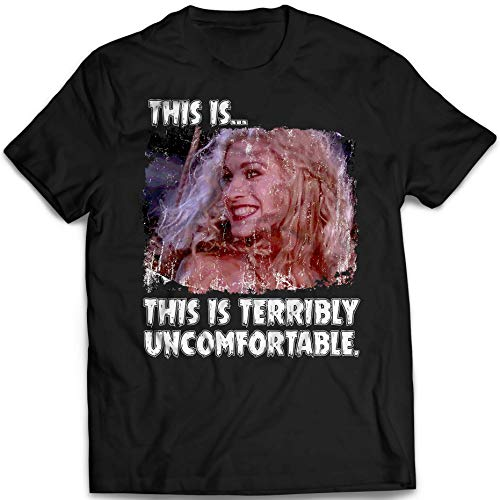 This Is Terribly Uncomfortable Sarah Quotes Hocus Pocus Squad Goals Sanderson Sisters Halloween Witches Customized T-Shirt Hoodie/Long Sleeve/Tank Top/Sweatshirt -