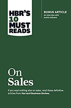 Download for free HBR's 10 Must Reads on Sales