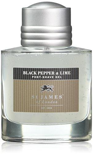(St James of London Black Pepper & Lime Post Shave Gel )