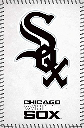 (Trends International Chicago White Sox - Logo Wall Poster, 22.375
