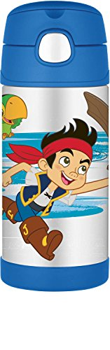 Thermos Funtainer 12 Ounce Bottle, Jake and The Neverland Pirates (Peter Pan Jake And The Neverland Pirates)