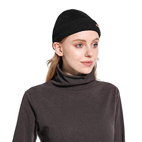 Sundie Women Hat Casual Headgear Warm Winter Chapeau Crochet Wool Knit Comfortable Caps