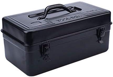 HLD ティン・ツールボックス家庭用ハードウェアアイアンツールボックスアイアンボックスポータブルストレージボックスカー ツールボックス