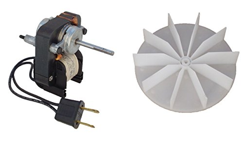 century electric motors c01575 universal bathroom fan replacement electric motor kit with fan 120 volts