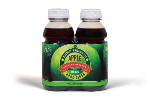 - Mr. Beer 2 Gallon Hard Apple Cider Homebrewing Cider Refill Kit