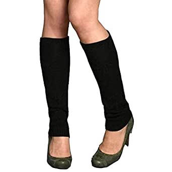 Fashion Comfort Leg Warmers (Assorted Solid Colors) (3 Pack)