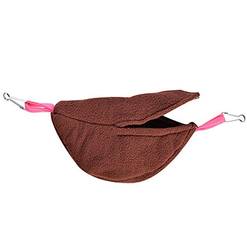 DZT1968  Hammock for Hamster Ferret Rabbit Small Animals Warm Cotton Sleep Nest House Hanging
