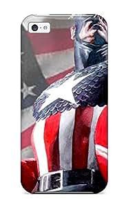 7388188K50830418 Excellent Design Captain America Case Cover For Iphone 5c