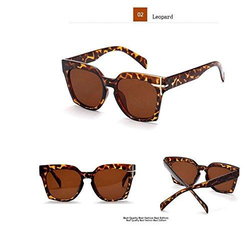 365Cor(TM)12058 Korean female cross block glasses big box trend sunglasses covering her face avant M sunglasses 2016 fashion - Korean Trend 2016 Glasses