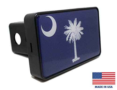 Bright Hitch - South Carolina Flag Hitch Cover