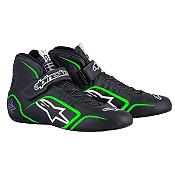 Alpinestars TECH 1-Z Mens Shoes Black//Fluorescent Green, Size 12
