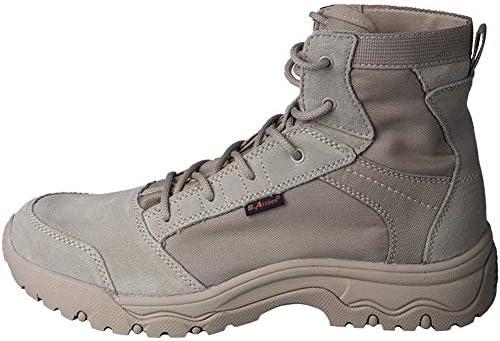 メンズ ミリタリーブーツ アウトドア 軍靴 春と秋 メンズ 超軽量 ミリタリーブーツコンバットブーツ アウトドア ハイキング シューズ 登山 靴 防水 防滑 通気性 耐磨耗