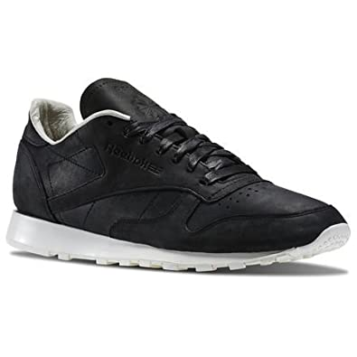 buy online c6e3c d116f Reebok Sportswear - Classic Leather Lux PW - Black - 12  Amazon.co.uk   Shoes   Bags