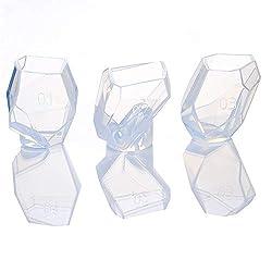 Gem Stone Crystal Mold Silicone Candle Molds 3 Sha