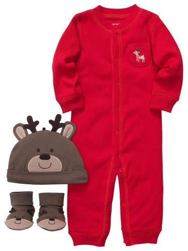 3 Piece Baby Reindeer Christmas Outfit