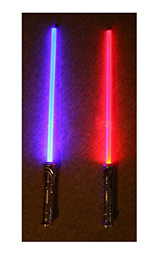 (Lot of 2 Star Wars FX Sound Lightsaber Light Saber Sword)