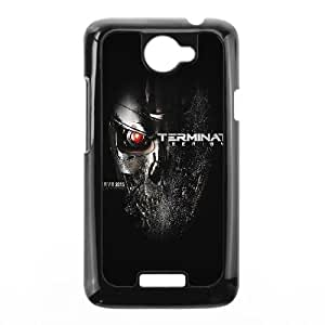 HTC One X Cell Phone Case Black al96 terminator genesis poster film art illust dark SUX_030584