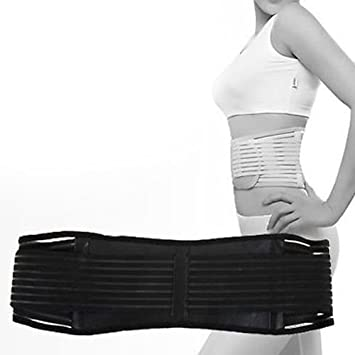 5f805277c9d79 Vital Physio Infrared HEAT Magnetic Back Support MEDIUM Lumbar Brace Belt  Double Pull Strap Lower Pain