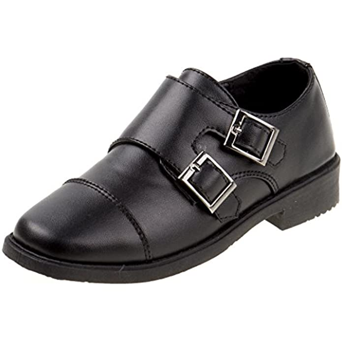Josmo Boys Double Monk Strap Oxford Loafer (Toddler/Little Kid/Big Kid)