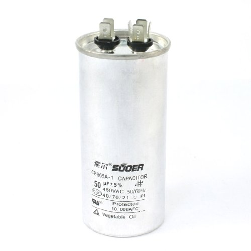 Capacitor For Ac Amazon. Uxcell A13110100ux0349 Polypropylene Film Generators Run Motor Capacitor Cbb65a 50 F 450v Ac. Wiring. Cbb65a Capacitor Wire Diagram At Scoala.co