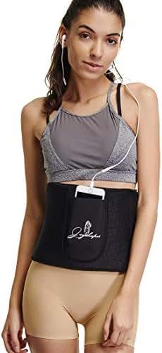 Waist Trimmer Belt Weight Loss Stomach Shaper Women Sweat Belly Band Wraps Fat Burner Ab Sauna