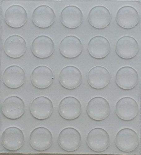 Elastikpuffer für Möbeltüren und Schubkästen transparent 8,0 mm x 1,6 mm, 2816