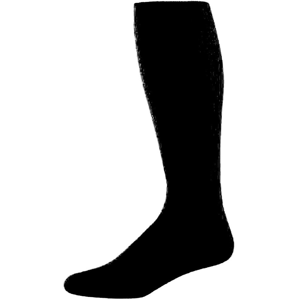 パフォーマンスチューブソックス B015HT6SR2 Large ブラック ブラック Large